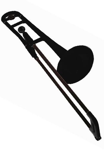 PBone Plastic Trombone Outfit - Black