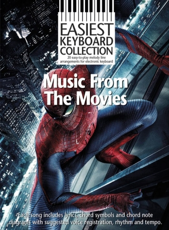 Easiest Keyboard Collection Music From The Movies: Keyboard Album