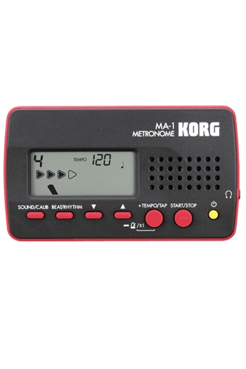 Korg MA-2 Solo Metronome  Black/ Red