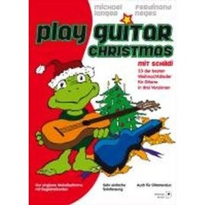 Play Guitar Christmas Mit Schildi: Top Line And Chords
