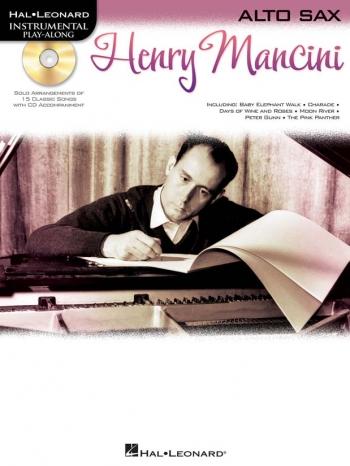 Instrumental Play-along: Henry Mancini: Alto Sax: Bk&cd