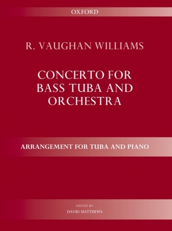 Concerto For Bass Tuba & Piano F Minor (OUP)