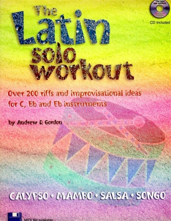 Latin Solo Workout: All Instruments: Bk&Cd