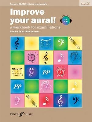 Improve Your Aural Grade 3: Book & CD  (New Edition From 2010-2011) (Paul Harris)