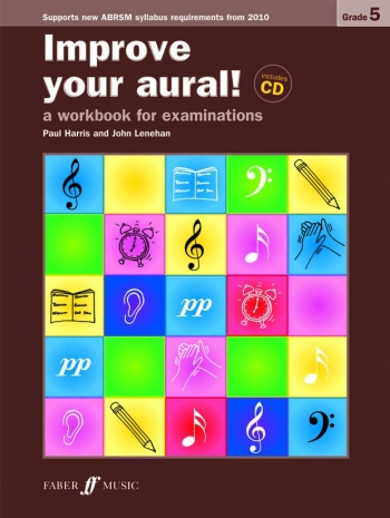 Improve Your Aural Grade 5: Book & CD  (New Edition From 2010-2011) (Paul Harris)
