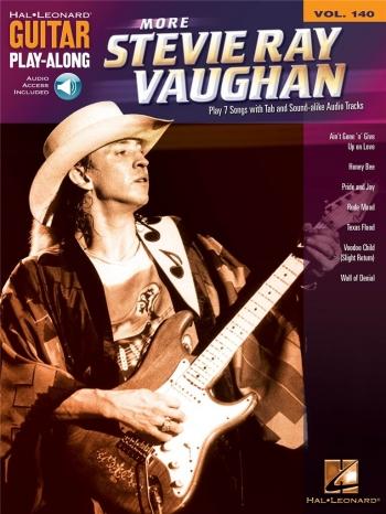 Guitar Play-Along Vol 140: More Stevie Ray Vaughan: Guitar Tab: Bk&Cd