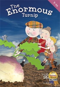The Enormous Turnip: Cantata: Ages 3-6  Bk&cd