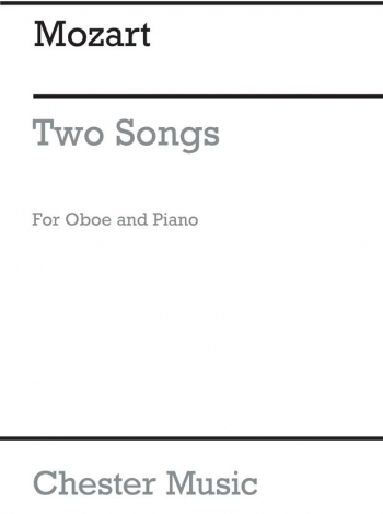 Two Songs For Oboe And Piano