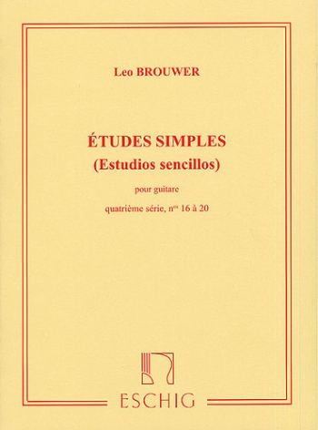 Etudes Simples: Vol4: 16 To 20: Guitar