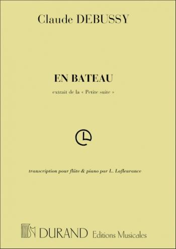 En Batteau: Flute & Piano (Durand)
