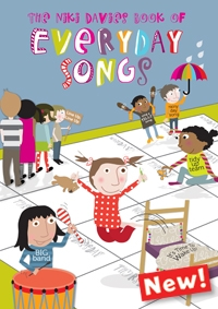 The Niki Davies Book Of Everyday Songs Vocal: Book & Cd: