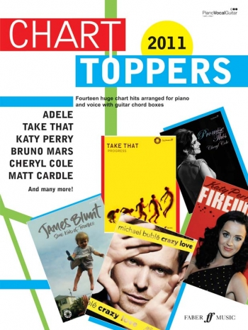 Chart Toppers 2011: Piano Vocal And Guitar