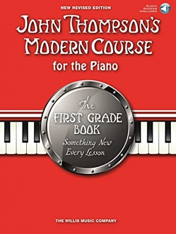 John Thompson's Modern Course For The Piano: First Grade: New Revised Edition Book & Cd Tutor