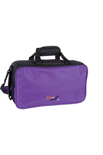 Clarinet Case: Gig Bag: Tom& Will Purple