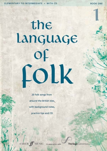 Language Of Folk Book 1: Elementary To Intermediate: Bk&cd