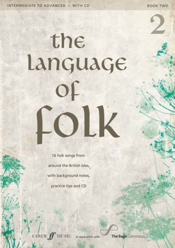 Language Of Folk Book 2: Intermediate To Advanced: Bk&cd