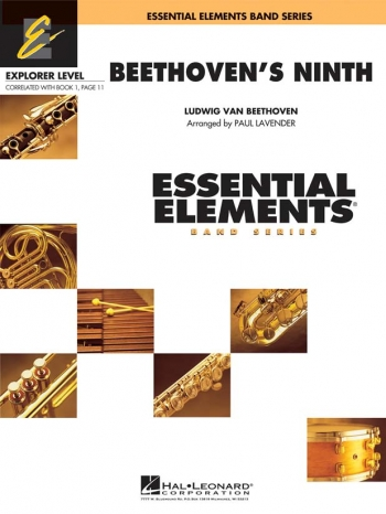 Essential Elements 200 Band Series: Beethovens Ninth:  Sc&Pts