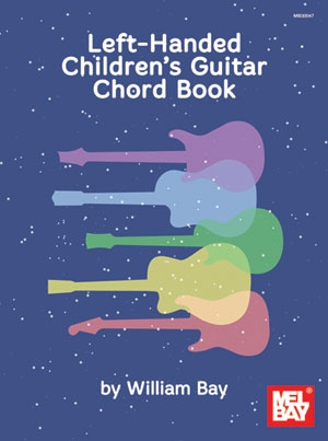 Left-Handed Childrens Guitar Chord Book: Tutor