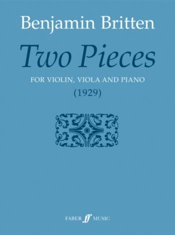 Two Pieces For Violin Viola & Piano (Faber)