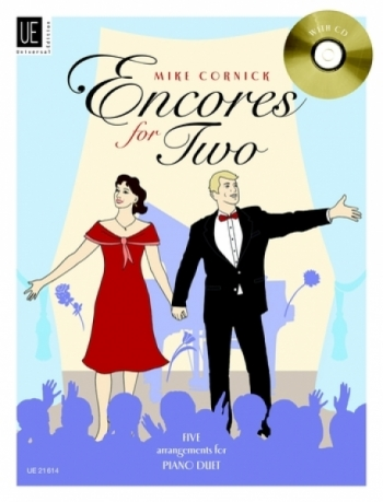 Encores For Two: Piano Duet: Bk&cd