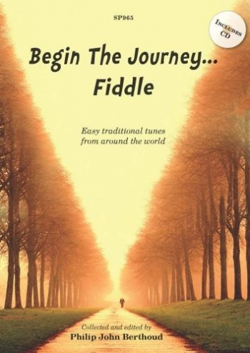Begin The Journey: Fiddle: Book & Cd