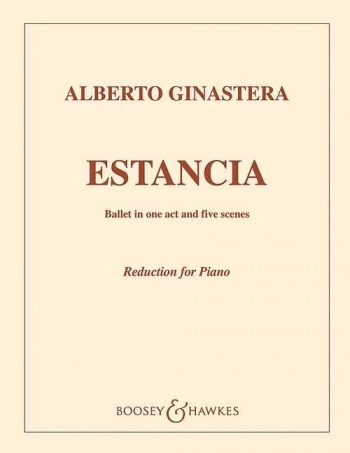 Estancia Op 8: Piano Reduction
