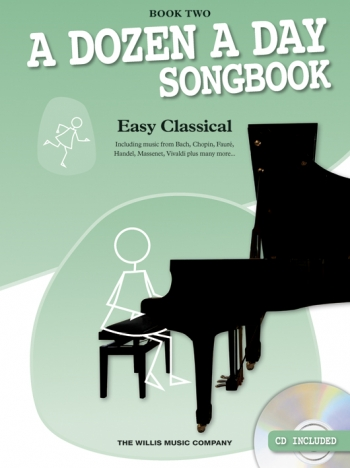 A Dozen A Day Songbook Book 2: Easy Classical: Book & Cd