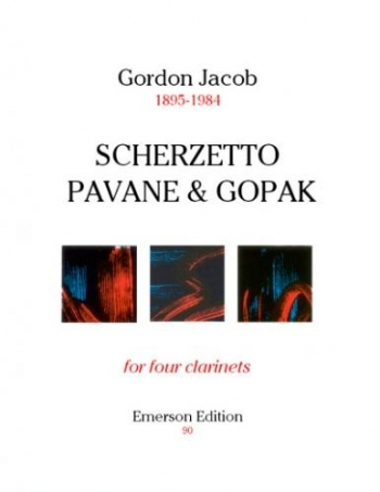 Scherzetto Paavane & Gopak Clarinet Quartet