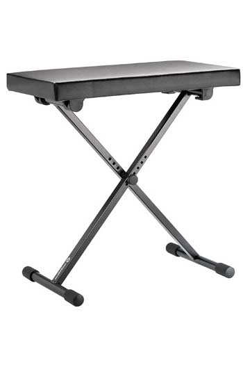 Adjustable Keyboard Bench Black Konig & Meyer