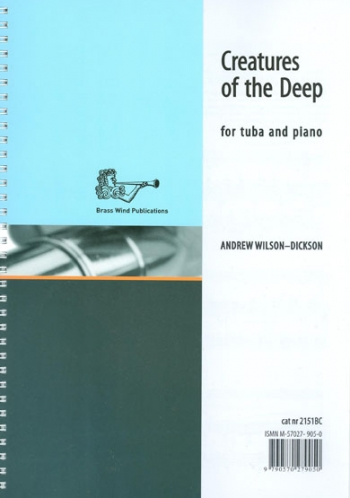 Creatures Of The Deep: Tuba Bass Clef & Piano (Wilson-Dickson