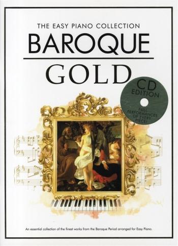 Baroque Gold: Easy Piano Collection: Piano: Book & Cd