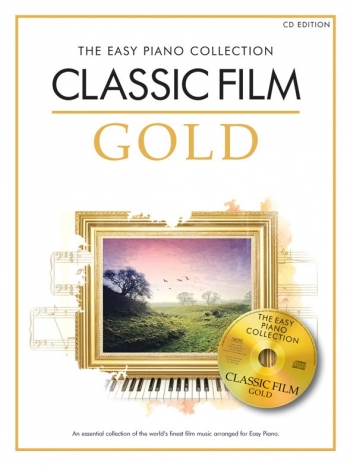 Classic Film Gold: Easy Piano Collection: Piano: Book & Cd