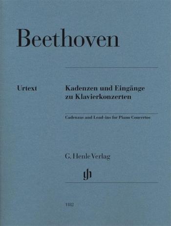 Cadenzas And Lead-ins For Piano Concertos (Henle)