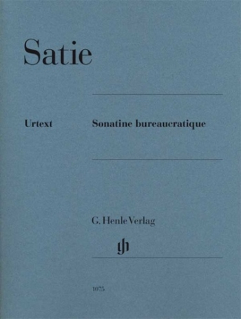 Sonatine Bureaucratique: Piano Solo (Henle)