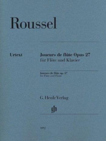 Joueurs De Flute: Op27: Flute & Piano (Henle)