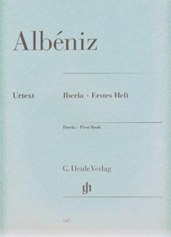 Iberia First Book: Piano Solo (Henle)