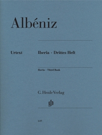 Iberia Third Book Piano Solo (Henle)
