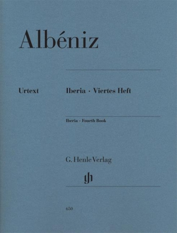 Iberia Fourth Book Piano Solo (Henle)