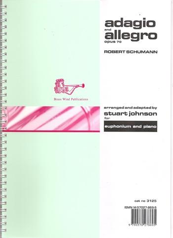 Adagio And Allegro: Op70: Euphonium & Piano