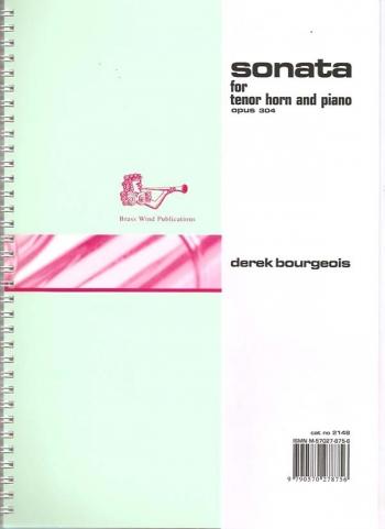 Sonata: Op304: Eb Tenor Horn & Piano (Brasswind)