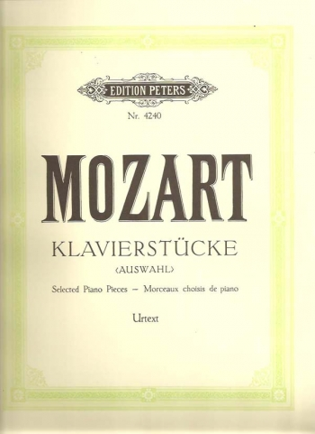 Selected Piano Pieces: Piano (Peters)