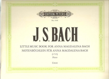 Little Music Book For Anna Magdalena Bach 1725: Piano Solo (Peters)