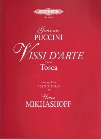 Vissi Darte From Tosca: Piano (Peters)