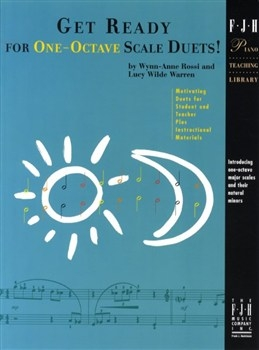 Get Ready For One Octave Scale Duets: Book 1