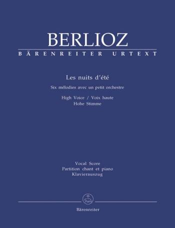 Les Nuits Dete: High Voice: Vocal Score  (Barenreiter)