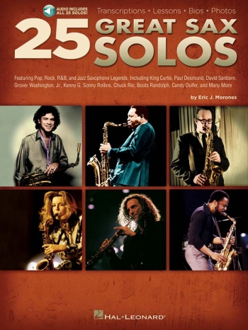 25 Great Sax Solos: Saxophone: Part & Guitar Chords