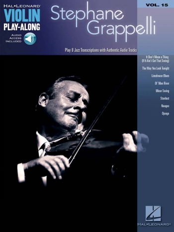 Violin Play-along: Vol. 15: Stephane Grappelli