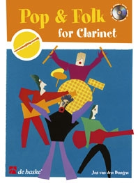 Pop And Folk For Clarinet: Book & Cd