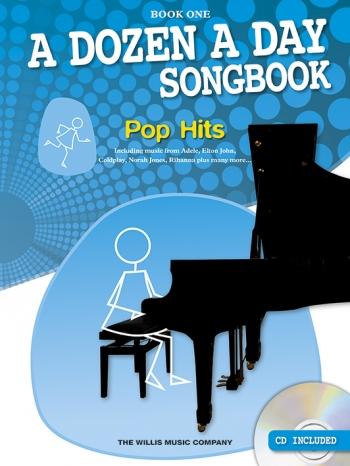 A Dozen A Day Songbook Book 1: Pop Hits: Book & Cd