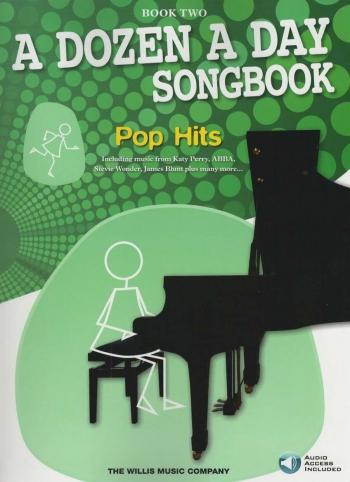 A Dozen A Day Songbook Book 2: Pop Hits: Book & Cd
